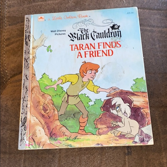 4/$20! The Black Cauldron Taran Finds A Friend